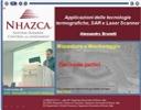 Applicazioni delle tecnologie termografiche, SAR e Laser Scanner